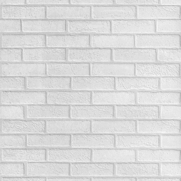 "Листовая панель МДФ ""Кирпич белый (под покраску)"" 930х2200х6 мм"
