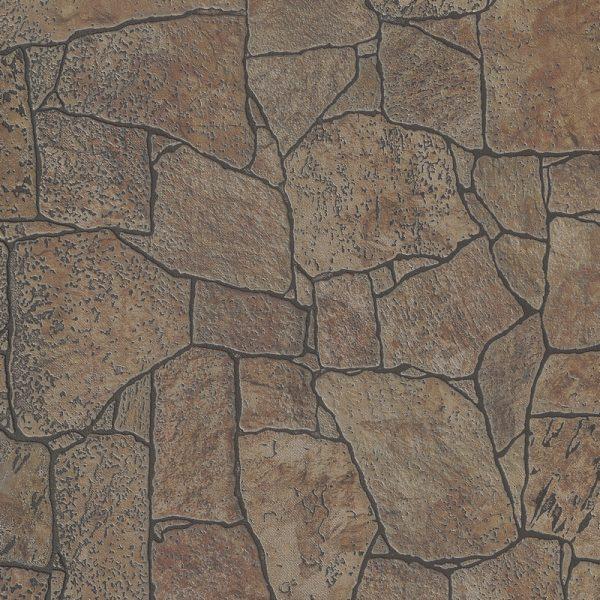 """Листовая панель МДФ """"Камень Охра"""" 930х2200х6 мм"""