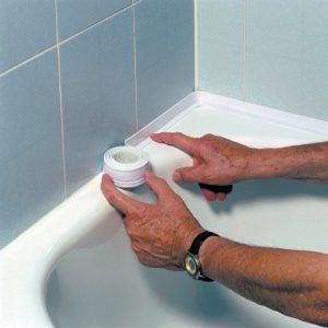 Лента бордюр для ванн и раковин