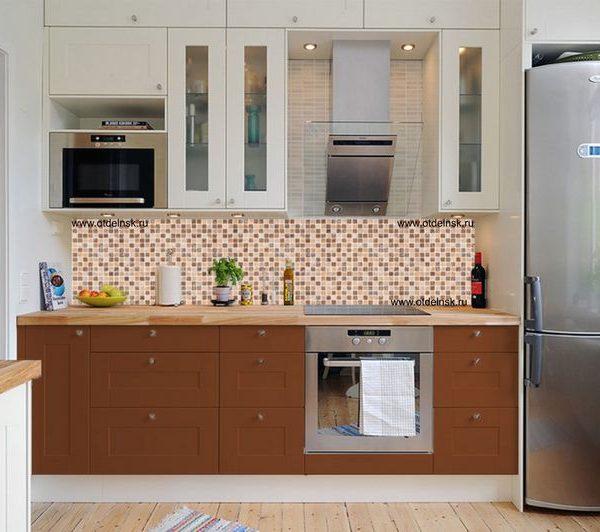 Мозаика. Фартук для кухни пластиковый. 2 метра