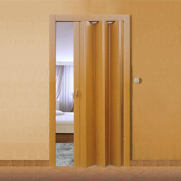Орех Миланский. Дверь гармошка ПВХ
