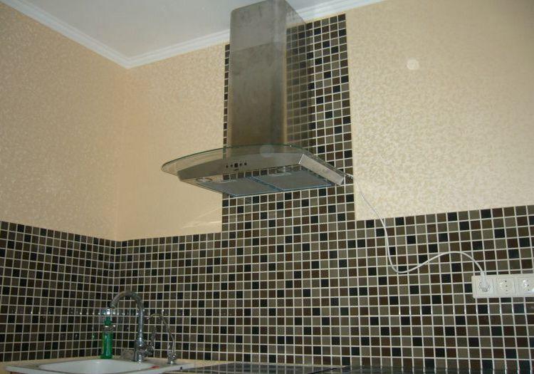 Мозаика ПВХ на кухне