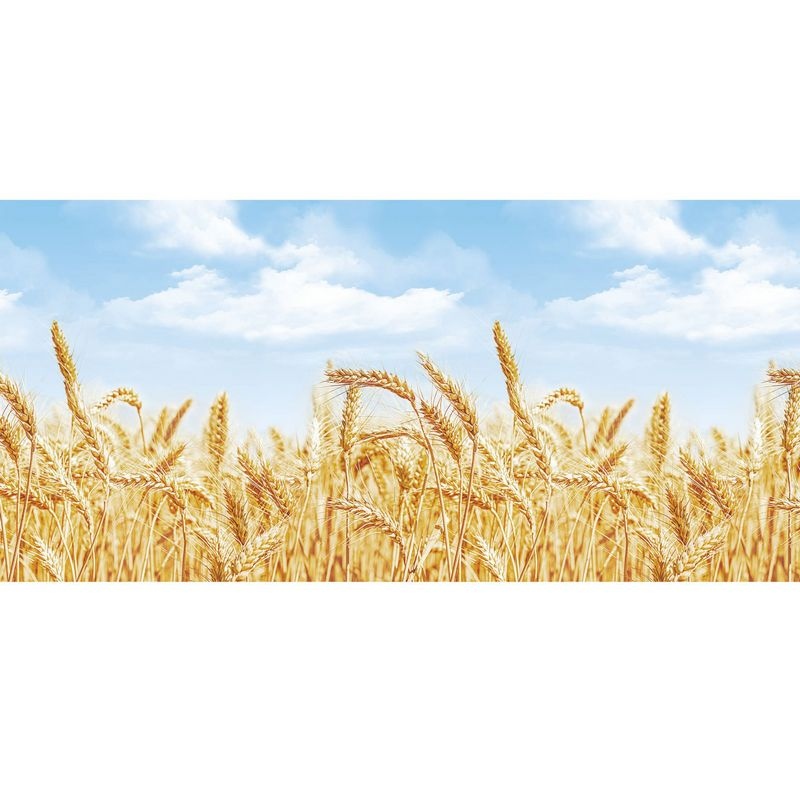Пшеница. Фартук для кухни пластиковый. 2 метра
