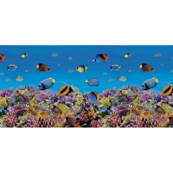 Рыбки. Фартук для кухни пластиковый. 2 метра
