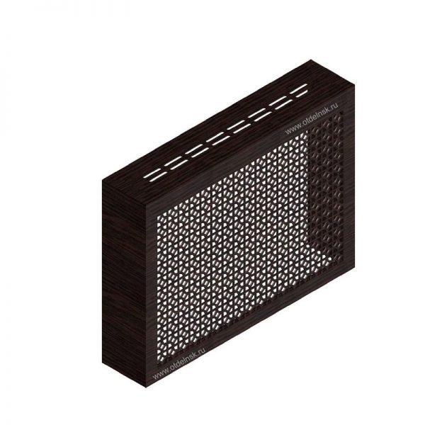 Сусанна венге. Экран с коробом для радиаторов 900х600×170 мм.