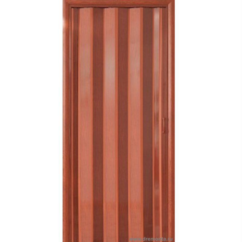 Вишня. Дверь гармошка ПВХ с мягкими шарнирами