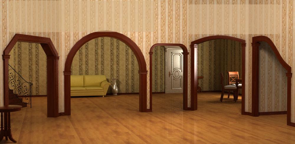 где можно купить арку межкомнатную