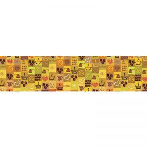 0592 SK Текстура. Фартук для кухни пластиковый. 3 метра