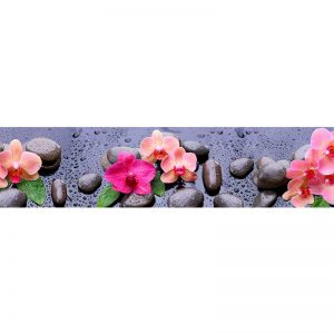 252 КП Орхидеи. Фартук для кухни пластиковый. 3 метра