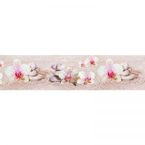 572 КП Орхидеи. Фартук для кухни пластиковый. 3 метра