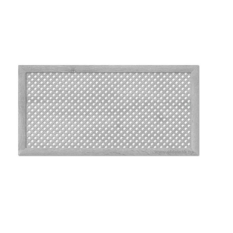 Готико Дуб Серый 600х1200 мм. Экран для радиаторов