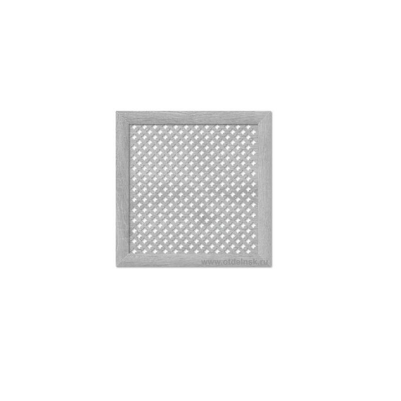 Готико Дуб серый 600х600 мм. Экран для радиаторов