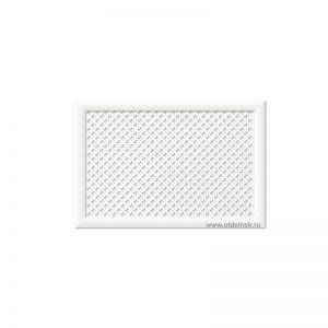 Готико Белый 600х900 мм. Экран для радиаторов