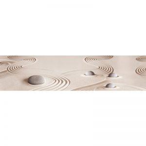 679 КП Камни и песок. Фартук для кухни пластиковый. 3 метра