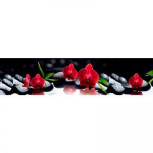 69 КП Орхидеи. Фартук для кухни пластиковый. 3 метра
