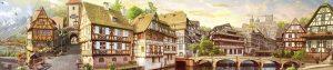 Альпийский городок 1664