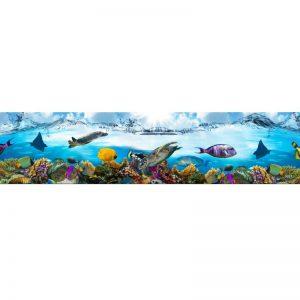 0022 SK Море. Фартук для кухни пластиковый. 3 метра