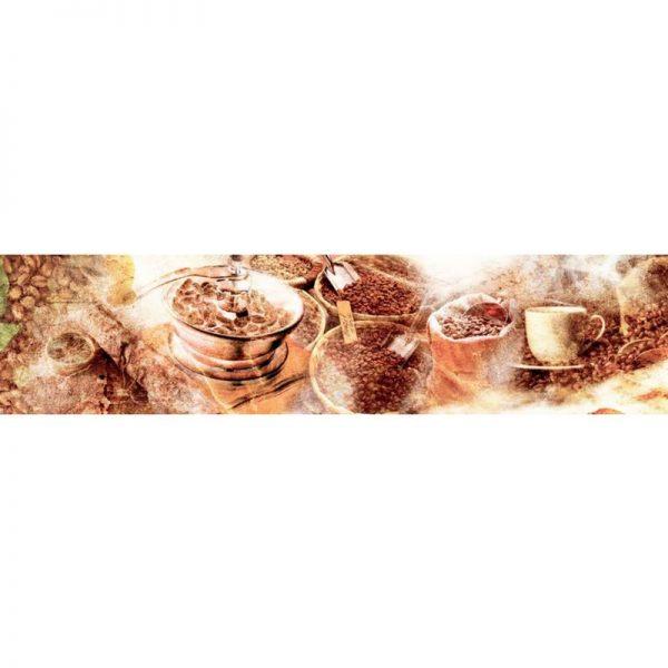 0207 SK Кофе. Фартук для кухни пластиковый. 3 метра