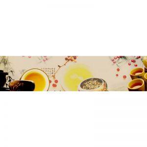 0209 SK Кофе. Фартук для кухни пластиковый. 3 метра