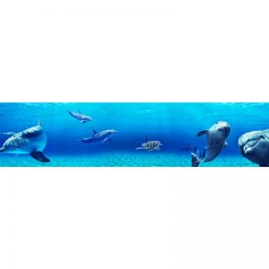 0309 SK Море. Фартук для кухни пластиковый. 3 метра
