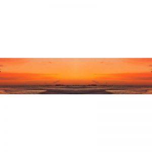0454 SK Море. Фартук для кухни пластиковый. 3 метра