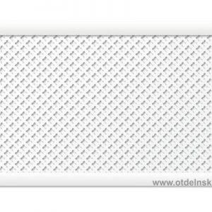 """Готико """"Белый"""" 600х900 мм экран для радиаторов"""