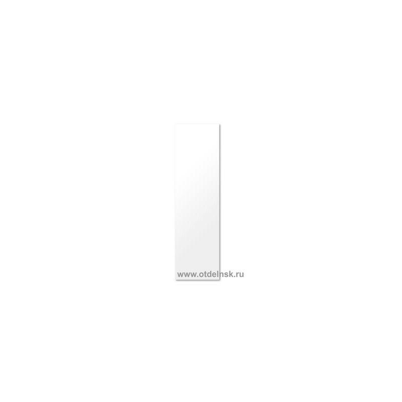 Белый 170х600 мм. Боковина для короба радиатора