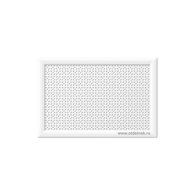 Дамаско Белый 600х900 мм. Экран для радиаторов