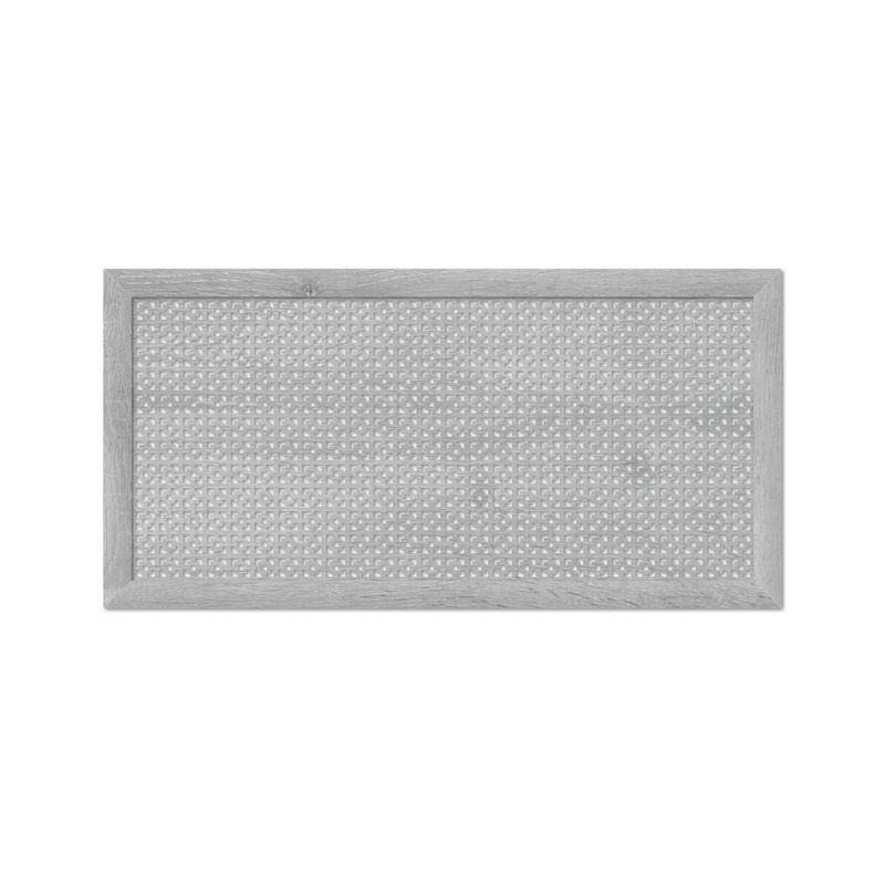 Дамаско Дуб Серый 600х1200 мм. Экран для радиаторов