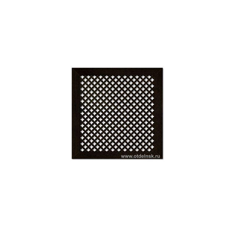 Дамаско Венге 600х600 мм. Экран для радиаторов