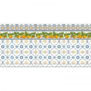 Лимончелло. Фартук для кухни пластиковый. 3 метра