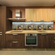 Прованс. Фартук для кухни пластиковый. 3 метра