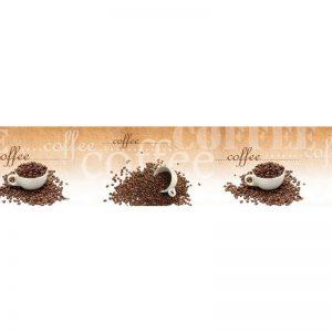 1670 SK Кофе. Фартук для кухни пластиковый. 3 метра