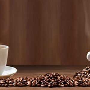 2573 SK Кофе. Фартук для кухни пластиковый. 3 метра