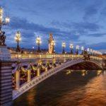 Мост Александра III 194х136см