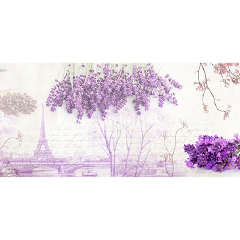 118 Цветы. Фартук для кухни МДФ. 2,8 метра