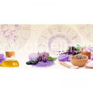 156 Цветы. Фартук для кухни МДФ. 2,8 метра