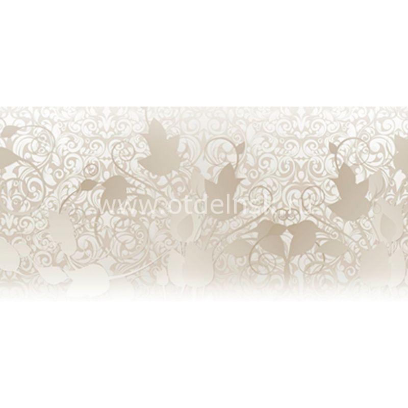 42 Белый клен, узоры. Фартук для кухни МДФ. 2,8 метра