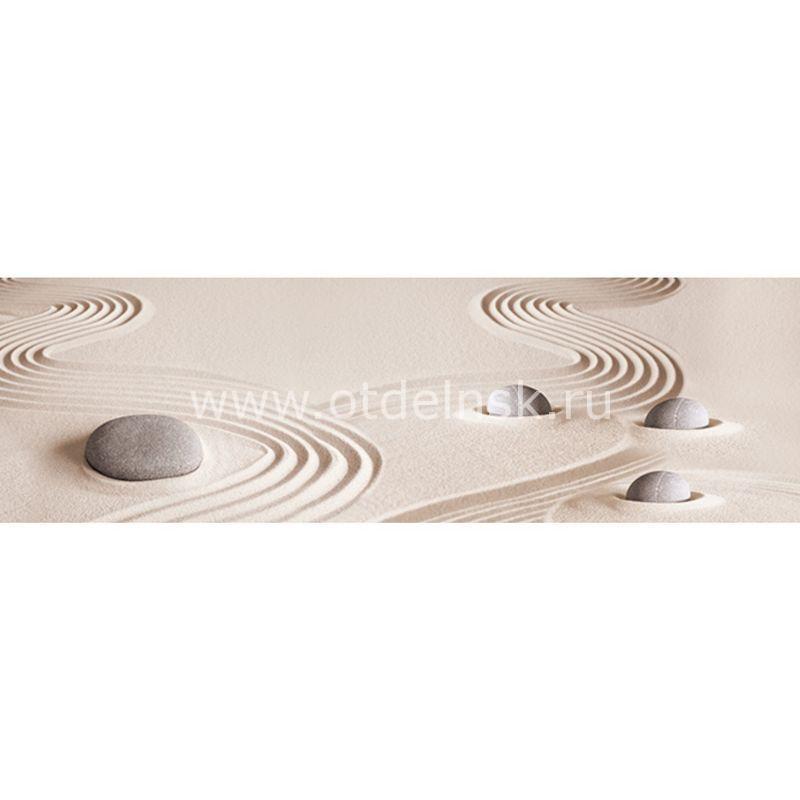679 Песок, камни. Фартук для кухни МДФ. 2,8 метра