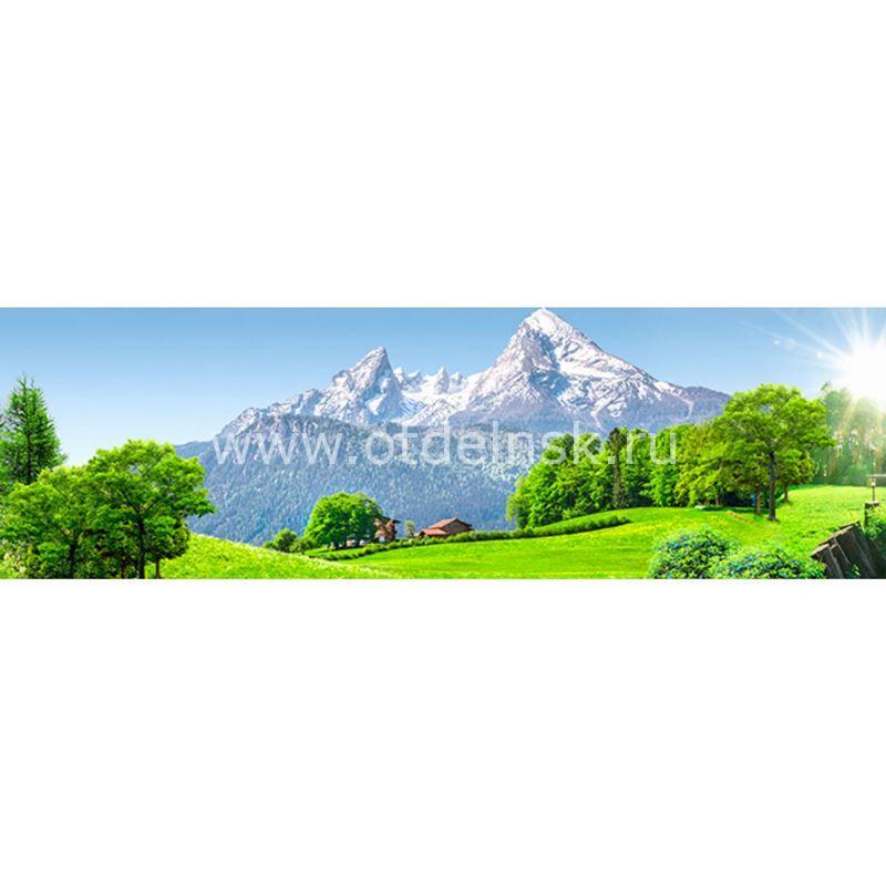 746 Горы. Фартук для кухни МДФ. 2,8 метра