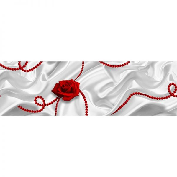 839 Розы. Фартук для кухни МДФ. 2,8 метра