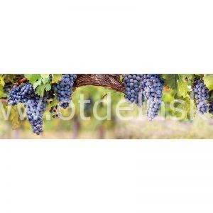 840 Виноград. Фартук для кухни МДФ. 2,8 метра