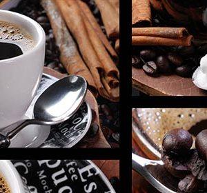 039 Кофе, зерна. Фартук для кухни МДФ. 2,8 метра