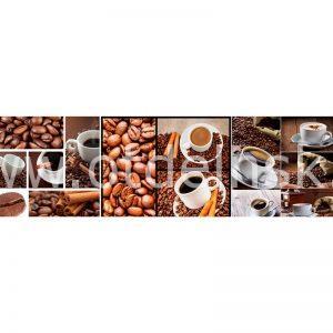041 Кофе, зерна. Фартук для кухни МДФ. 2,8 метра