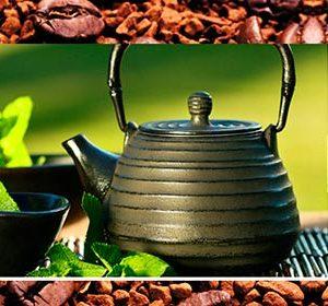 059 Кофе, чай. Фартук для кухни МДФ. 2,8 метра