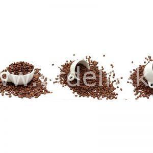079 Кофе, зерна. Фартук для кухни МДФ. 2,8 метра