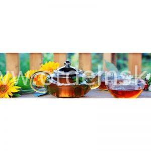 089 Кофе, чай. Фартук для кухни МДФ. 2,8 метра