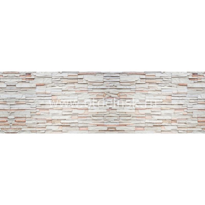 6535 Камень. Фартук для кухни МДФ. 2,8 метра