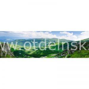 004 Природа, горы. Фартук для кухни МДФ. 2,8 метра