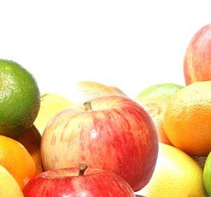 061 Овощи, фрукты. Фартук для кухни МДФ. 2,8 метра